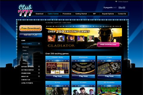 club 777 casino no deposit