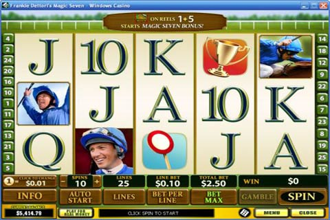 Play Frankie Dettoris Magic Seven Online Pokies at Casino.com Australia