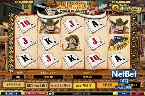 Play Wanted Dead or Alive Slots Online at Casino.com Canada