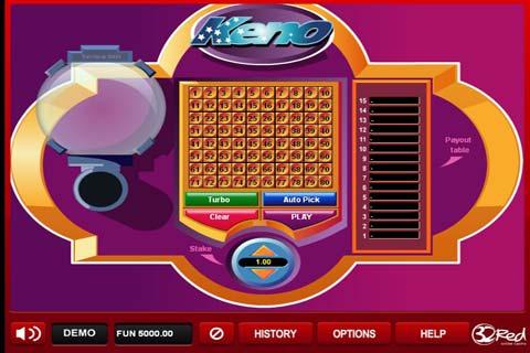 free casino keno