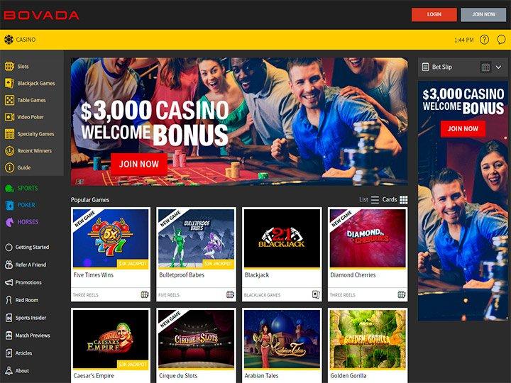 Bovada Casino Review Bonus Codes & Casino Promotions