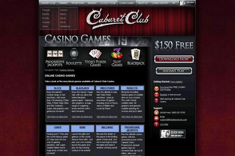 casino club cabaret