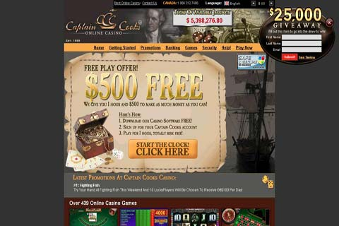 captain cook casino