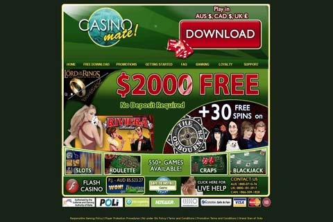 casino mate no deposit bonus