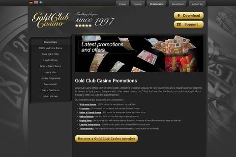 Gold vip club casino no deposit inet casino review