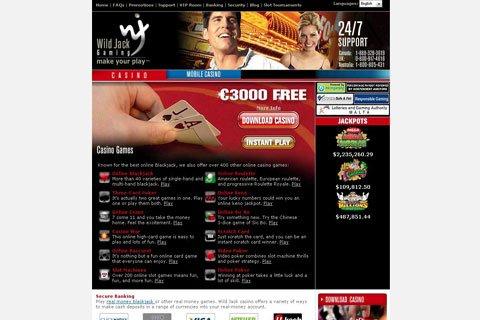 wild jack casino contact