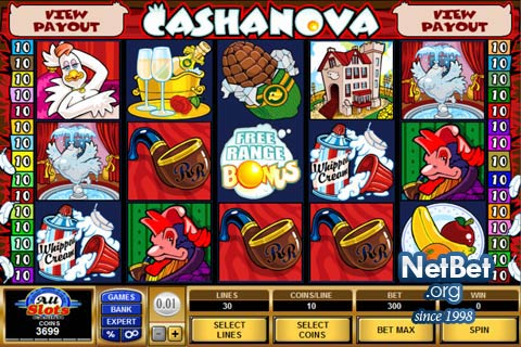 Cashanova™ Slot Machine Game to Play Free in Microgamings Online Casinos