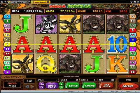 Mega Moolah™ Slot Machine Game to Play Free in Microgamings Online Casinos