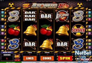 Power Spins - Atomic 8's Slot
