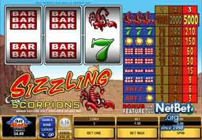 Sizzling Scorpions Slot