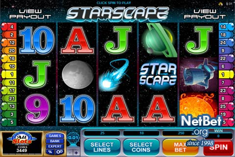 Starscape™ Slot Machine Game to Play Free in Microgamings Online Casinos