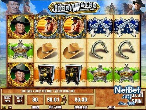 John Wayne Slots Review By Playtech Casinos