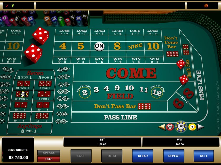 Online casino craps for money
