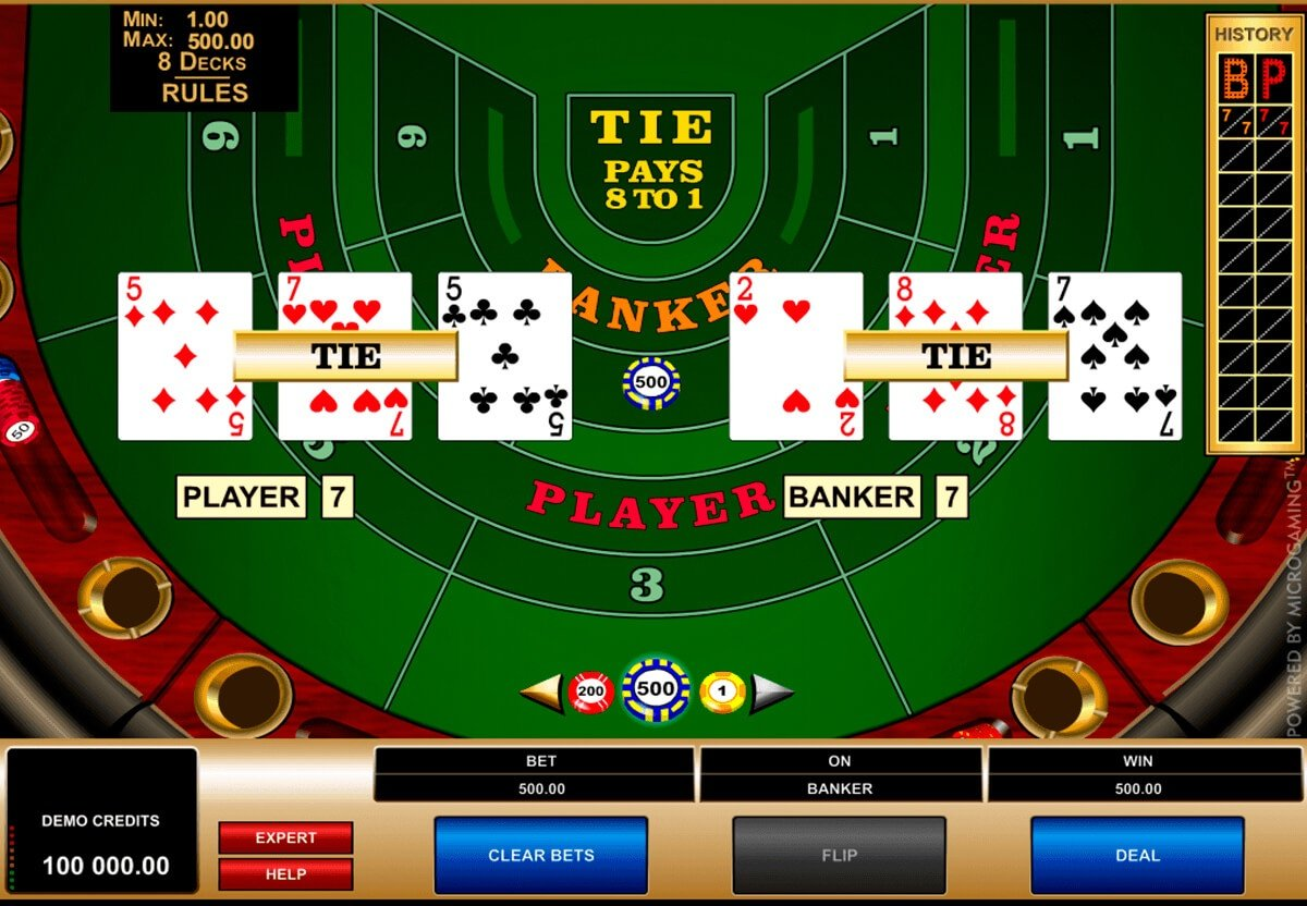 Baccarat Basic Strategy