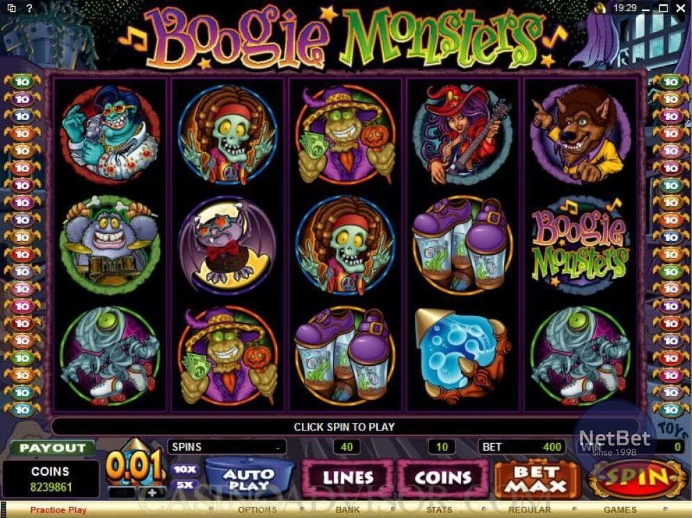 Boogie Monsters Slots