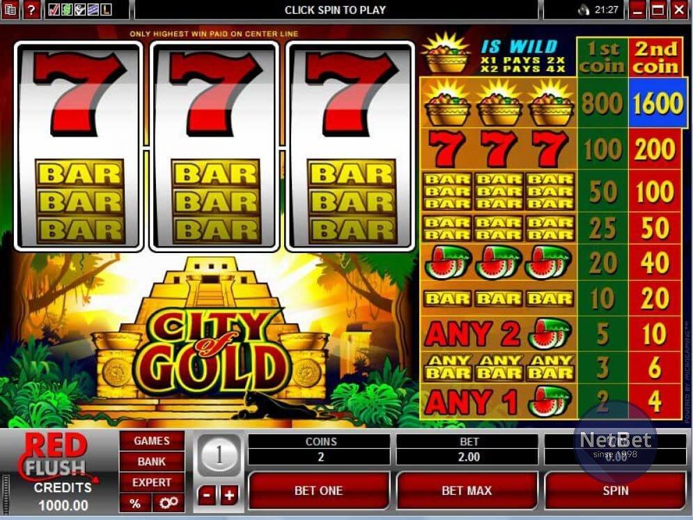 City of Gold Slot