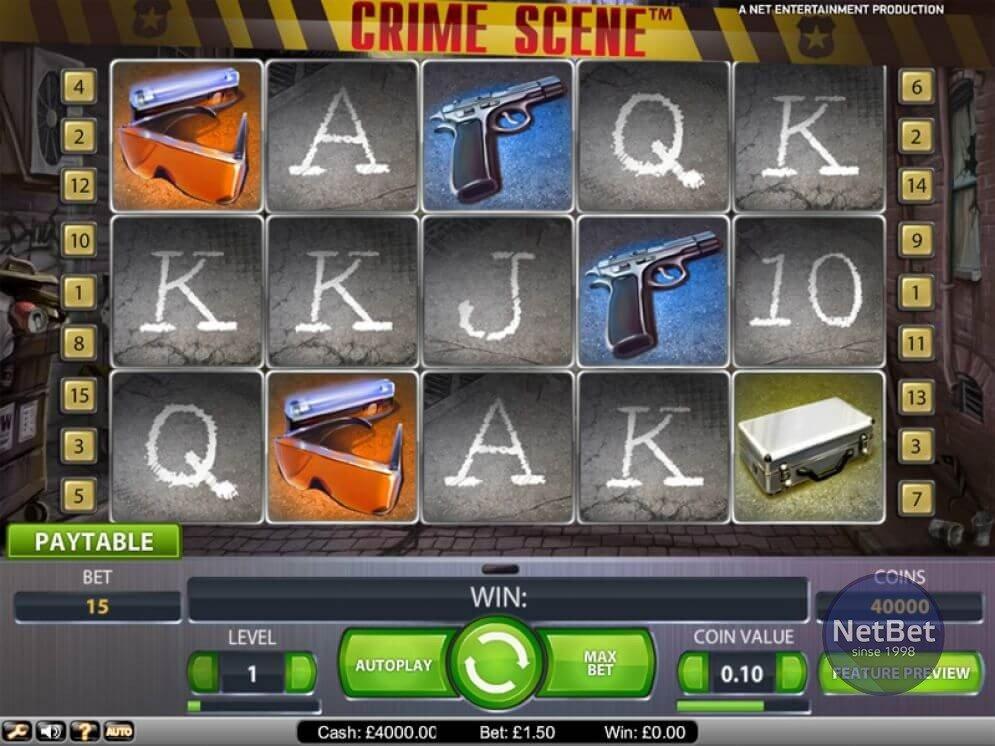 Crime Scene Slot
