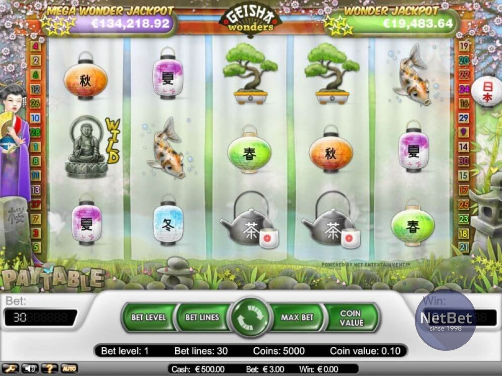 Geisha Wonders Slots