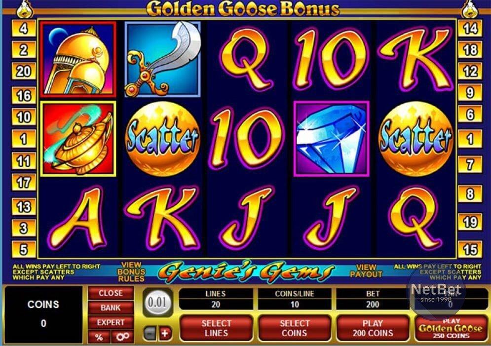 Golden Goose Genie's Gems