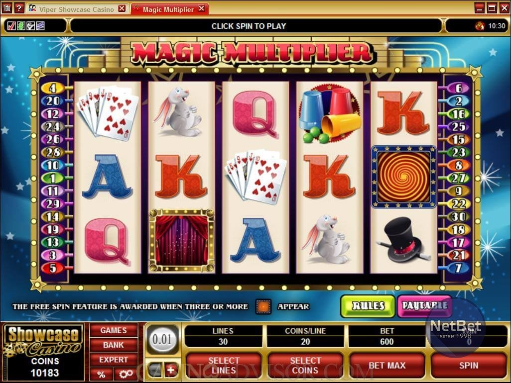 Magic Multiplier Slot