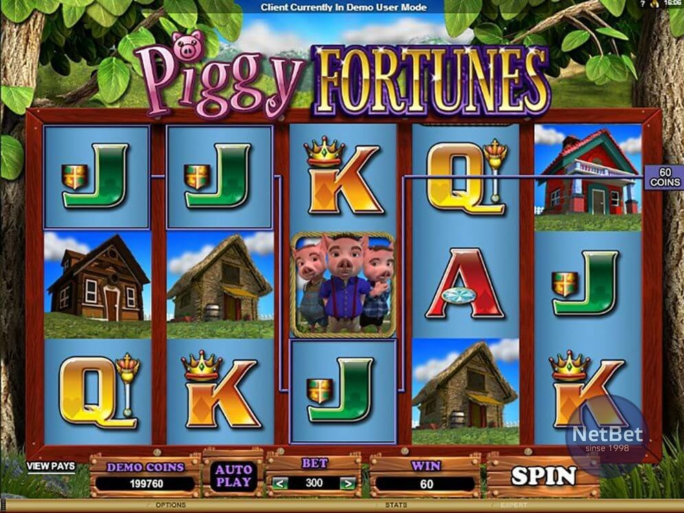 Spiele Piggy Fortunes - Video Slots Online
