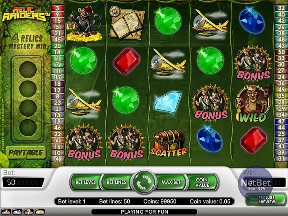 Relic Raiders Slots