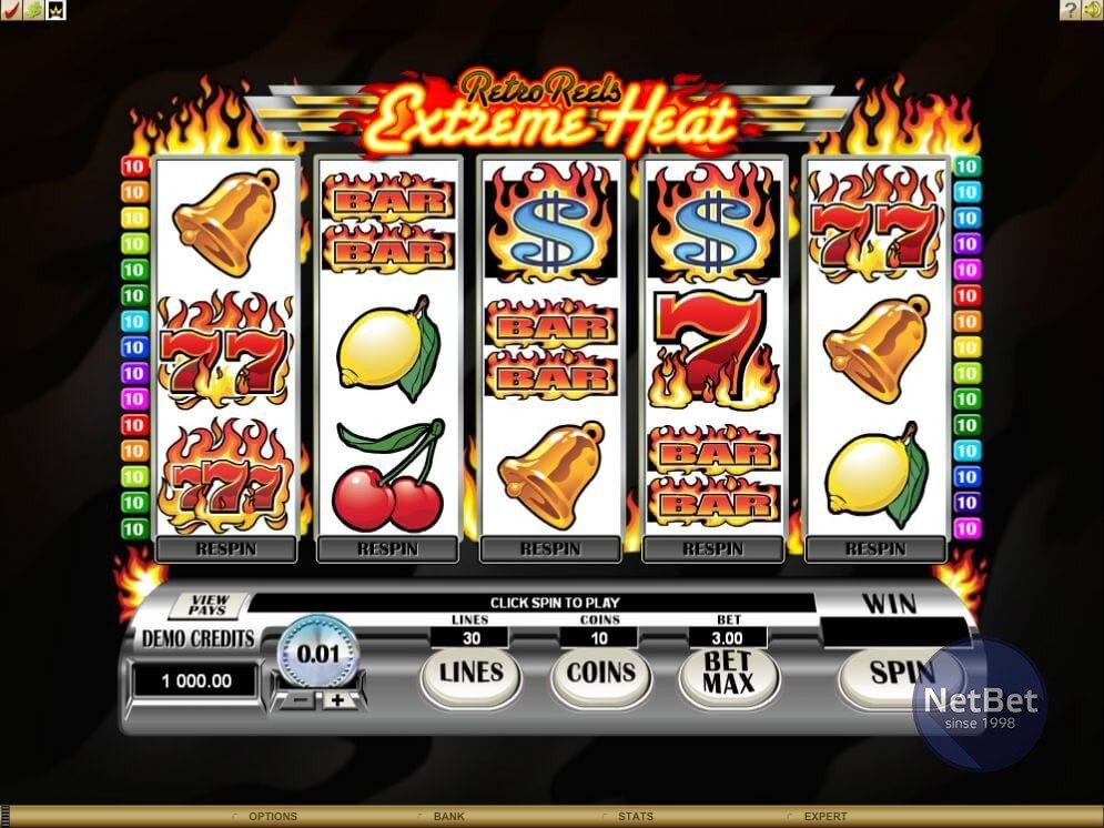 Retro Reels – Extreme Heat Slot