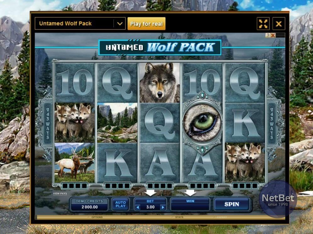 Untamed - Wolf Pack Slot